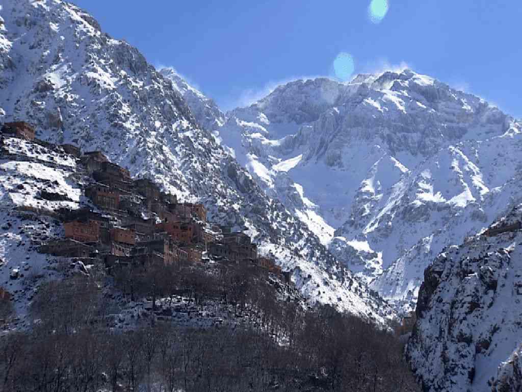 Atlas, Mountain